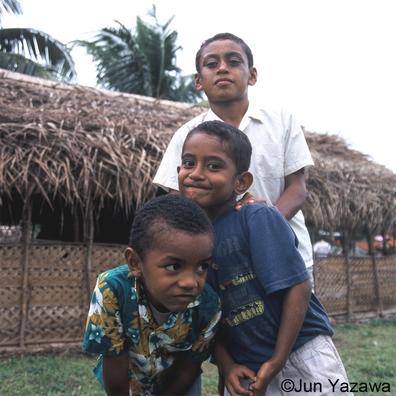 boys of Island fiji